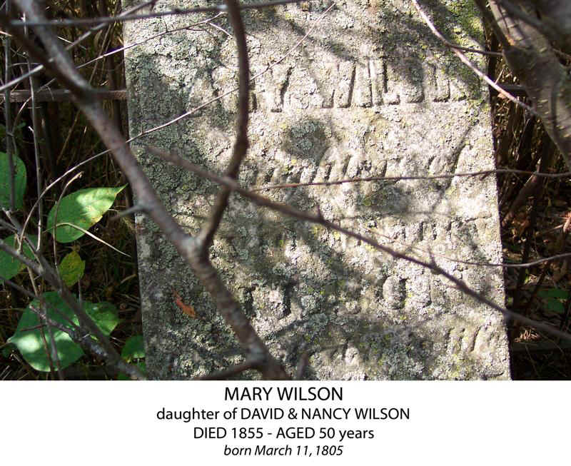 Tombstones in Lincoln County, Missouri